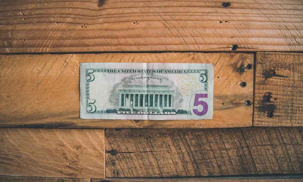 Friday Five Home Economics Dollar Bill
