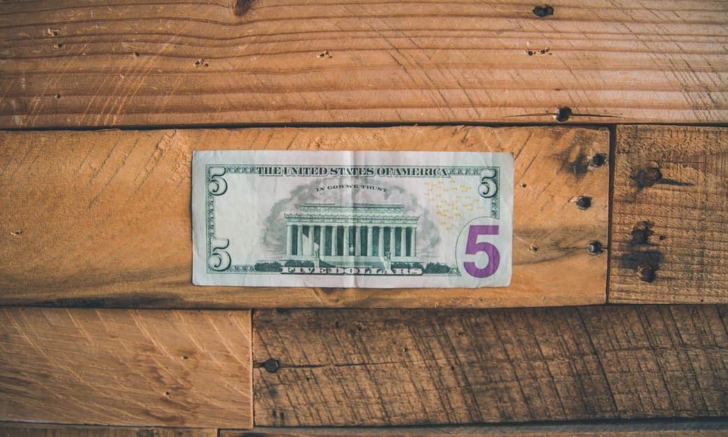 Friday Five Home Economics Dollar Bill