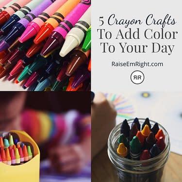 Crayon Crafts Pinterest