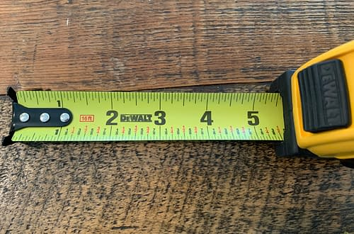 Friday Five Tape Measure